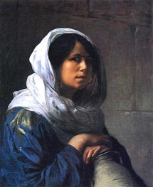 Egyptian Water Carrier, c.1882 by Gerome | Painting Reproduction