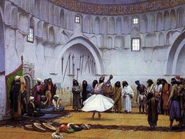 Whirling Dervishes | Gerome | Painting Reproduction