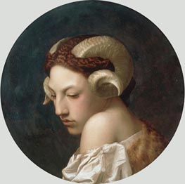 The Bacchante, 1883 by Gerome | Painting Reproduction