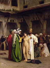 The Slave Market | Gerome | Painting Reproduction