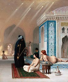 Pool in a Harem | Gerome | Painting Reproduction