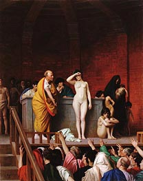 Slave Market in Ancient Rome | Gerome | Painting Reproduction