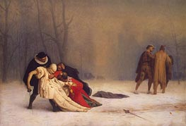 Duel after a Masked Ball, 1857 by Gerome | Painting Reproduction