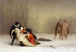 The Duel After the Masquerade, c.1857/59 by Gerome | Painting Reproduction