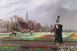 The Tulip Folly | Gerome | Painting Reproduction