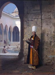 The Harem Guard, undated by Gerome | Painting Reproduction