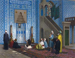 Rustem Pasha Mosque, Istanbul | Gerome | Painting Reproduction
