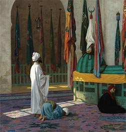 The Tomb of Sultan, undated by Gerome | Painting Reproduction