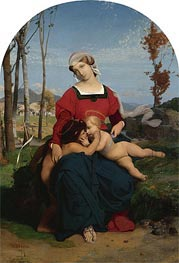 The Virgin and Child with Saint John the Baptist | Gerome | Painting Reproduction