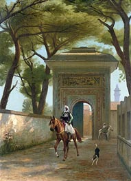 Return to the Palace | Gerome | Painting Reproduction