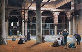 Interior of a Mosque | Gerome | Painting Reproduction