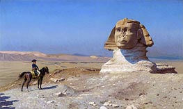 Napoleon Bonaparte Before the Sphinx | Gerome | Painting Reproduction