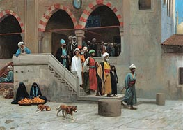 Leaving the Mosque | Gerome | Painting Reproduction