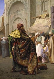 The Carpet Merchant of Cairo | Gerome | Painting Reproduction