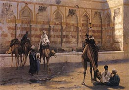 Camels at the Watering Place | Gerome | Painting Reproduction