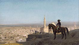 Napoleon Bonaparte in Cairo, 1886 by Gerome | Painting Reproduction