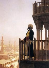 Le Muezzin (The Call to Prayer), 1866 by Gerome | Painting Reproduction