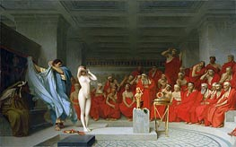Phryne before the Areopagus, 1861 by Gerome | Painting Reproduction