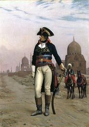 Napoleon in Egypt, c.1867/68 by Gerome | Painting Reproduction
