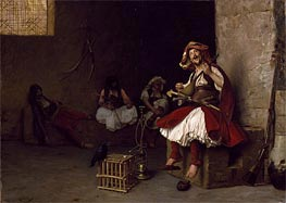 Bashi-Bazouk Singing, 1868 by Gerome | Painting Reproduction