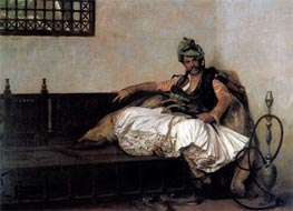 Bashi Bazouk Chief, 1881 by Gerome | Painting Reproduction