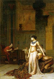 Cleopatra Before Caesar | Gerome | Painting Reproduction