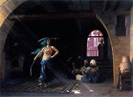 Dance of the Saber in a Cafe | Gerome | Painting Reproduction