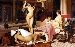 Greek Interior | Gerome | Painting Reproduction