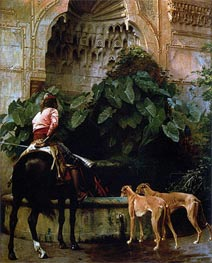 Home from the Hunt, 1876 von Gerome | Gemälde-Reproduktion