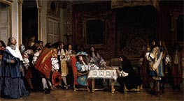Louis XIV and Moliere | Gerome | Painting Reproduction