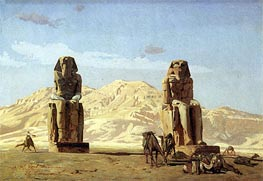 Memnon and Sesostris | Gerome | Painting Reproduction