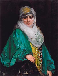 Woman from Constantinople | Gerome | Painting Reproduction