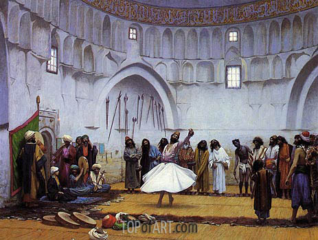Whirling Dervishes, 1899 | Gerome | Painting Reproduction
