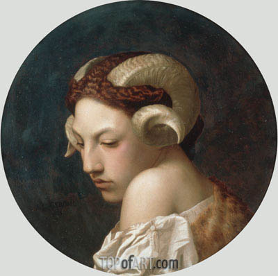 The Bacchante, 1883 | Gerome | Painting Reproduction