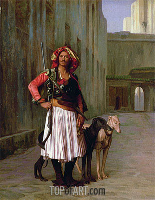 Arnaut of Cairo, 1871 | Gerome | Painting Reproduction