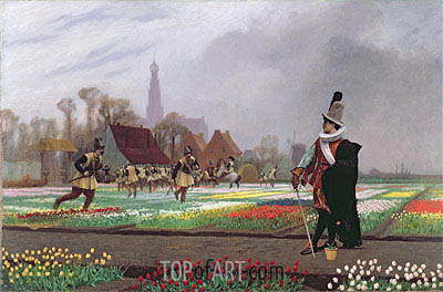 The Tulip Folly, 1882 | Gerome | Painting Reproduction