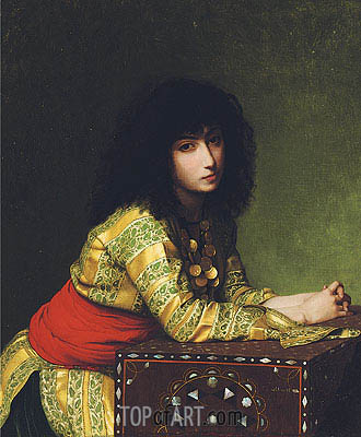 Egyptian Girl, 1877 | Gerome | Painting Reproduction