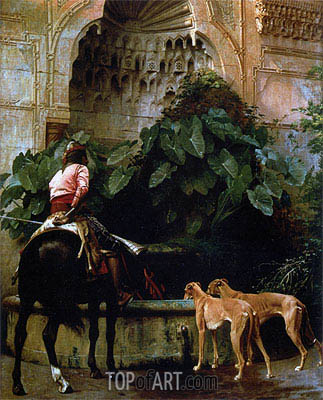 Home from the Hunt, 1876 | Gerome | Painting Reproduction