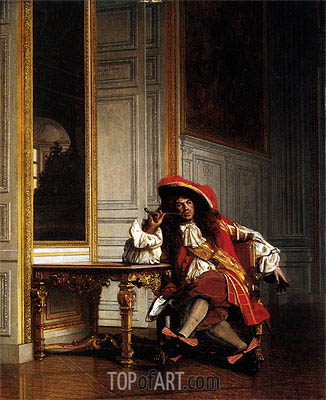 Jean Bart, 1862 | Gerome | Painting Reproduction