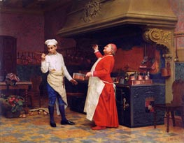The Marvelous Sauce, c.1890 von Jehan Georges Vibert | Gemälde-Reproduktion