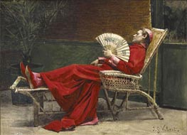 La Sieste | Jehan Georges Vibert | Painting Reproduction
