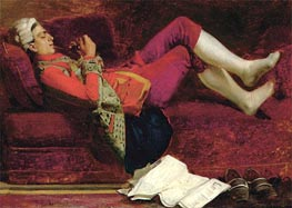 Rest, undated by Jehan Georges Vibert | Painting Reproduction