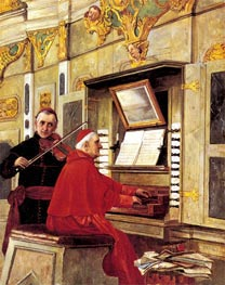The Duet | Jehan Georges Vibert | Painting Reproduction