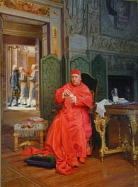 The Diet | Jehan Georges Vibert | Painting Reproduction