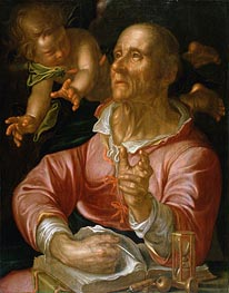 Saint Matthew, c.1616 by Joachim Wtewael | Painting Reproduction