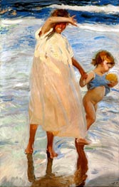 Two Sisters, Valencia | Sorolla y Bastida | Painting Reproduction