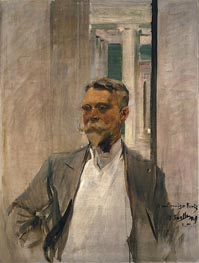 Portrait of Charles Kurtz | Sorolla y Bastida | Painting Reproduction
