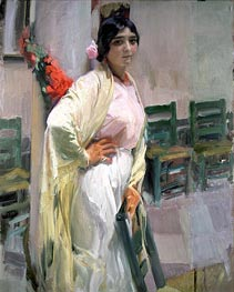 Maria, the Pretty One | Sorolla y Bastida | Painting Reproduction