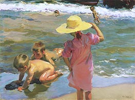 The Young Amphibians | Sorolla y Bastida | Painting Reproduction