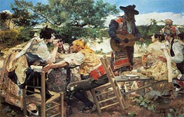 Valencian Scene | Sorolla y Bastida | Painting Reproduction